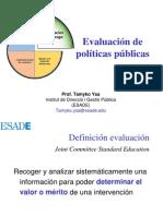 Evaluacion de Politicas Publicas