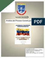 Analisis Del Proceso Constituyente de 1999