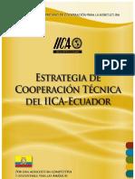 Estrategia Ecuador. IICA