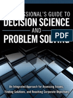 A Profesionals Guide to Decision Science and Problem Solving