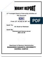 2nd Fortnight Report