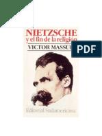 MASSUH VICTOR - Nietzsche Y El Fin de La Religion