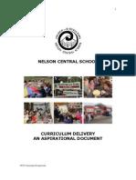 NCS Curriculum Framework 2007