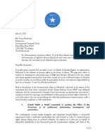 Somali Rights ICC Preliminary Communication against Kenyan Defense Forces