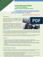 Brochure Direccion de Operaciones