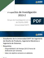 Monitoría GRID 20132