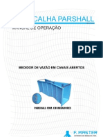 Manual Calha Parshall 00-20121
