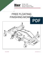 KingKutter FinishMower Manual