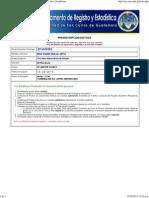 Inscripciones USAC 2013 - Departamento de Registro y Estadística