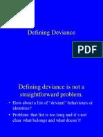 2 Defining Deviance