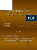 Fundamental File Structure Concepts
