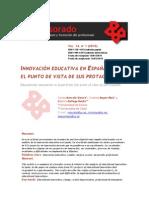 innovacion educativa en españo