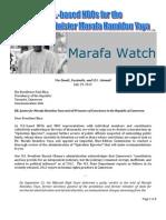 Coalition Letter to Biya