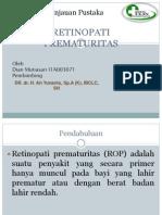 Retinopati Prematur DIAN