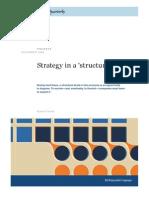 MQ - Strategy in a Structure Break