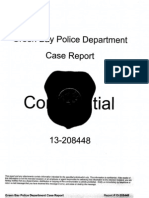 Green Bay Police Dept. case report