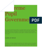 Supreme Pupil Government