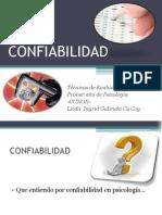 CONFIABILIDAD I AÑO