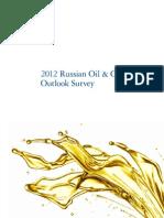 Dttl Russian Oil and Gas Outlook Survey2012 En