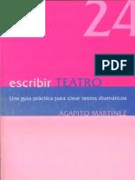 Escribir+Teatro+Agapito+Martinez
