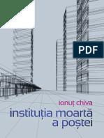 instituția moartă a poștei de Ionuț Chiva