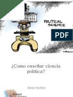 Como enseñar ciencia política