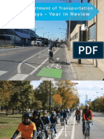 Bike Ways 2012 Report