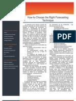 Como elegir la tecnica correcta para hacer un pronostico.pdf