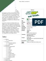 Subway – Wikipédia, a enciclopédia livre
