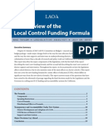 An Overview of theLocal Control Funding Formula