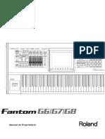 Manual Fantom g Portugues