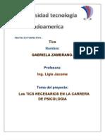 Las Tics Gabriela Zambrano