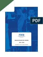 FIVB Reglas de Juego Voleibol 2013-2016 ACTUALIZADAS