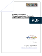 Human Collaboration, Africa Revolution App White Paper by Richard C Close