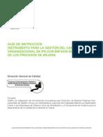 Linea 3 Instrumento 1 Cambio Organizacional EDITADA
