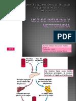 Insulina y Metformina