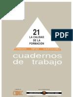 CIDEC_LaCalidadDeLaFormacion_1997