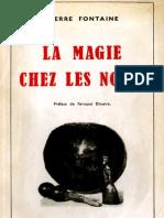 La Magie Chez Les Noirs
