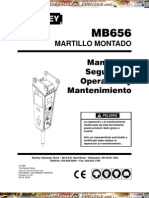 Manual Seguridad Operacion Martillo Montado Mb656