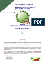 Plan area Naturales EL REPOSO - 6º-10º