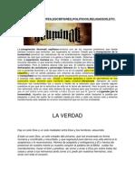 ARTISTAS.docx Agenda Iluminati