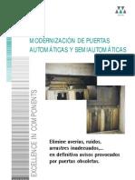 Wittur - Modernizacion de Puertas de Cabina (Automaticas)