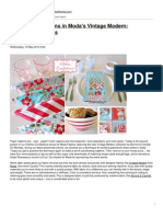 Sew4Home - Kitchen Confections in Moda's Vintage Modern- Patchwork Napkins - 2012-10-20