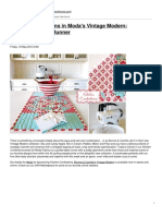 Sew4Home - Kitchen Confections in Moda's Vintage Modern- Patchwork Table Runner - 2012-05-21