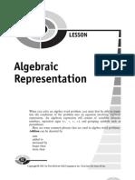 Algebraic Representation