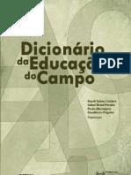 DICIONARIO DE EDUCAÇÃO DO CAMPO