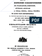 1834 CIAMPI Sebastiano  Bibliografia Critica delle antiche reciproche Corrispondenze Dell'Italia con la Russia, ka Polonia vol. 1
