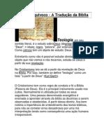 A Tradução da Bíblia