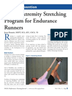 Lower Extremity Stretching for Endurance Runners