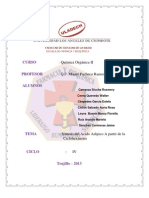 Practica Sintesis de Ciclohexanona Organica